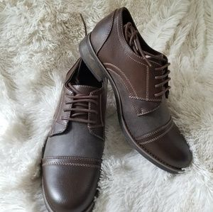 BNIB Steve Madden Men's Brown Dress Shoes, Sz 8